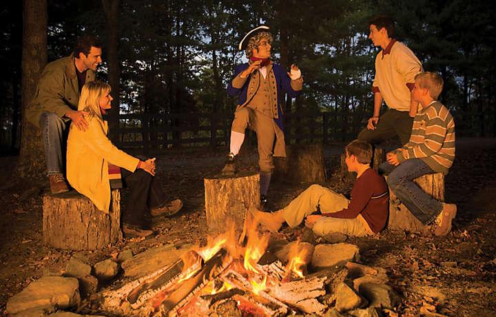 A Family Enjoys Vacation Time at Shenandoah Crossing™