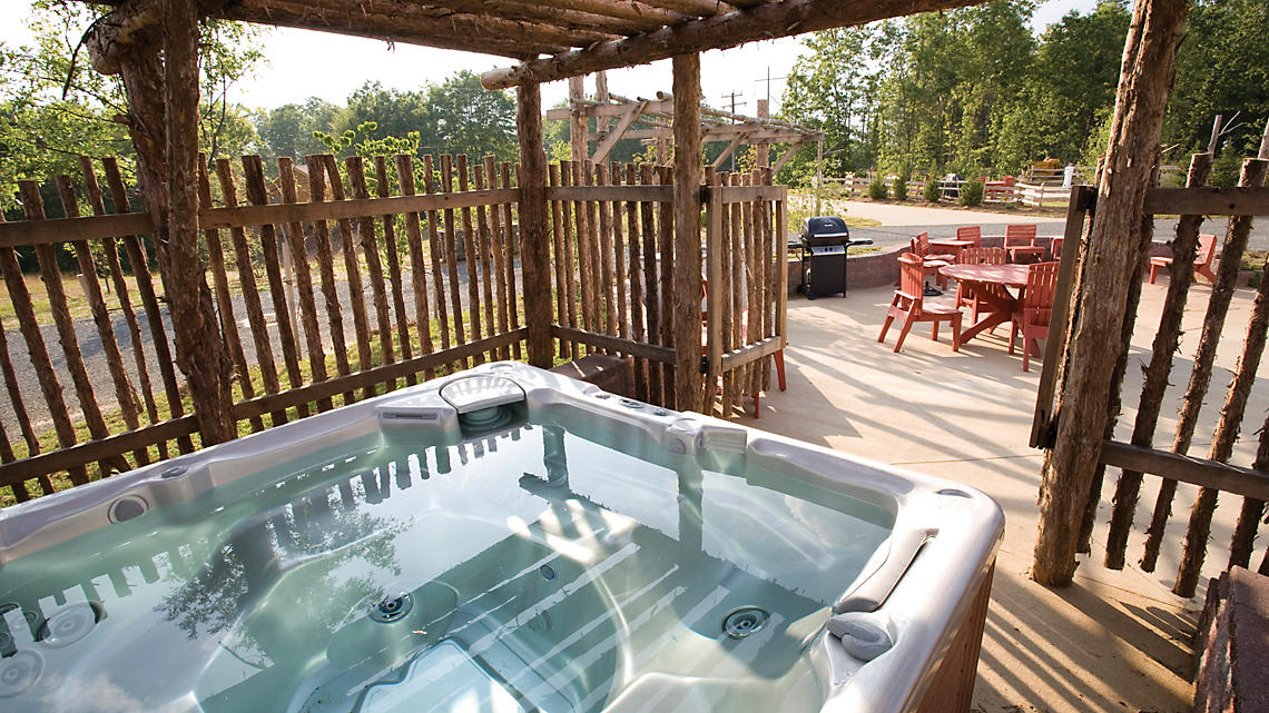 RV Site Pres Hot Tub