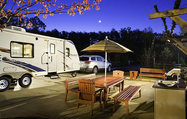 Shenandoah Crossing™ RV Camping Sites