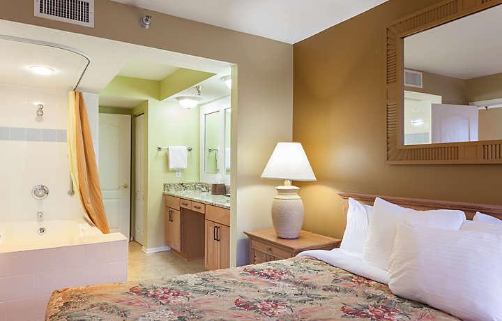 Master Bathroom and Bedroom - Shore Crest Vacation Villas™ I & II