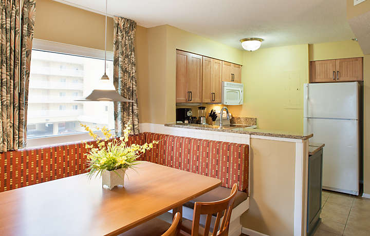 Dining and Kitchen Area - Shore Crest Vacation Villas™ I & II