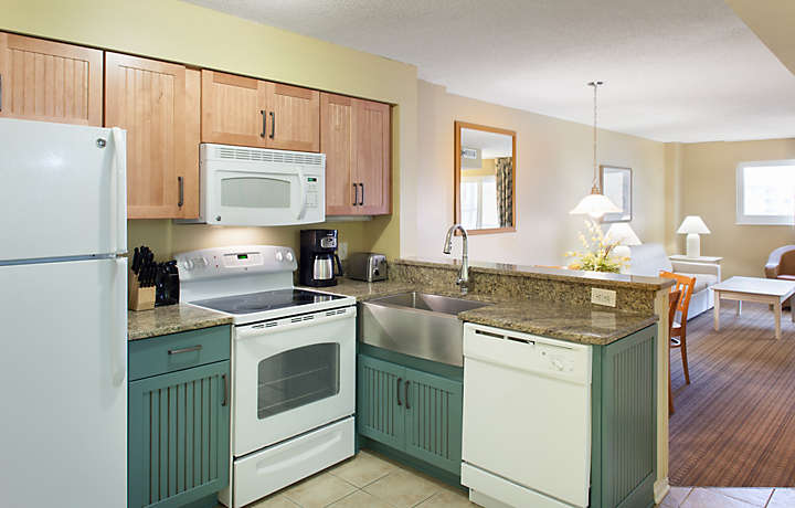Kitchen - Shore Crest Vacation Villas™ I & II