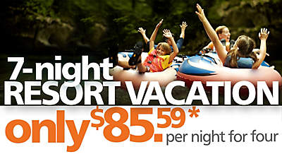7-night resort vacation