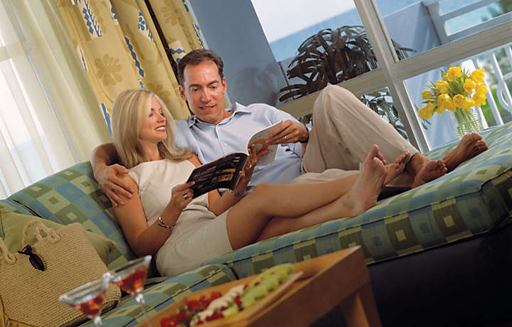 Couple in Luxury Suite - Solara Surfside™