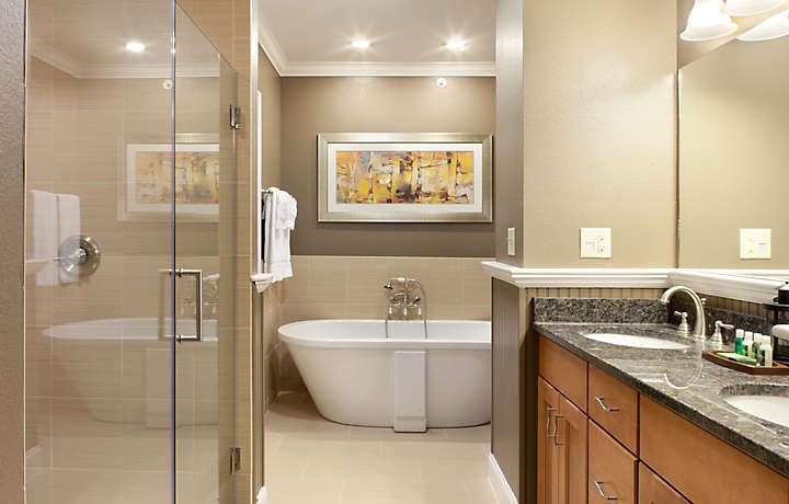 Presidential Suite Master Bath - South Mountain Resort