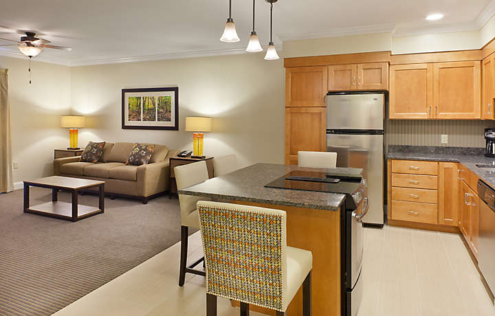 1 Bedroom Living and Dining Room - South Mountain Resort