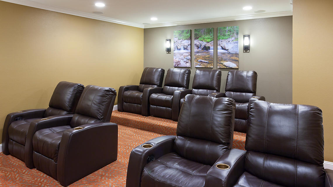 Presidential Theater Room
