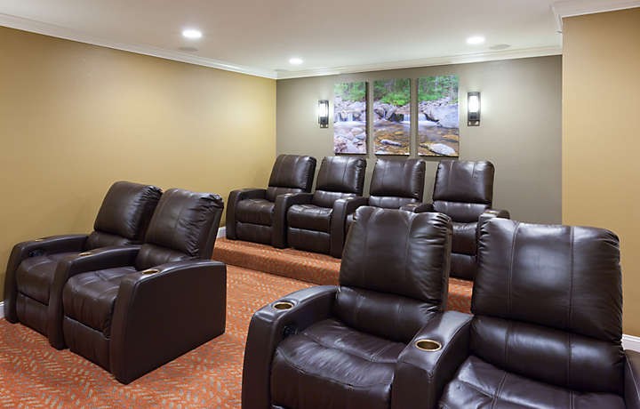 Presidential Suite Theater Room - South Mountain Resort