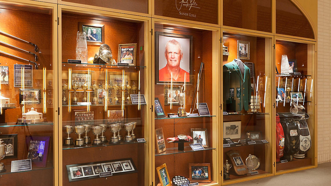 Golf Hall of Fame Exhibit