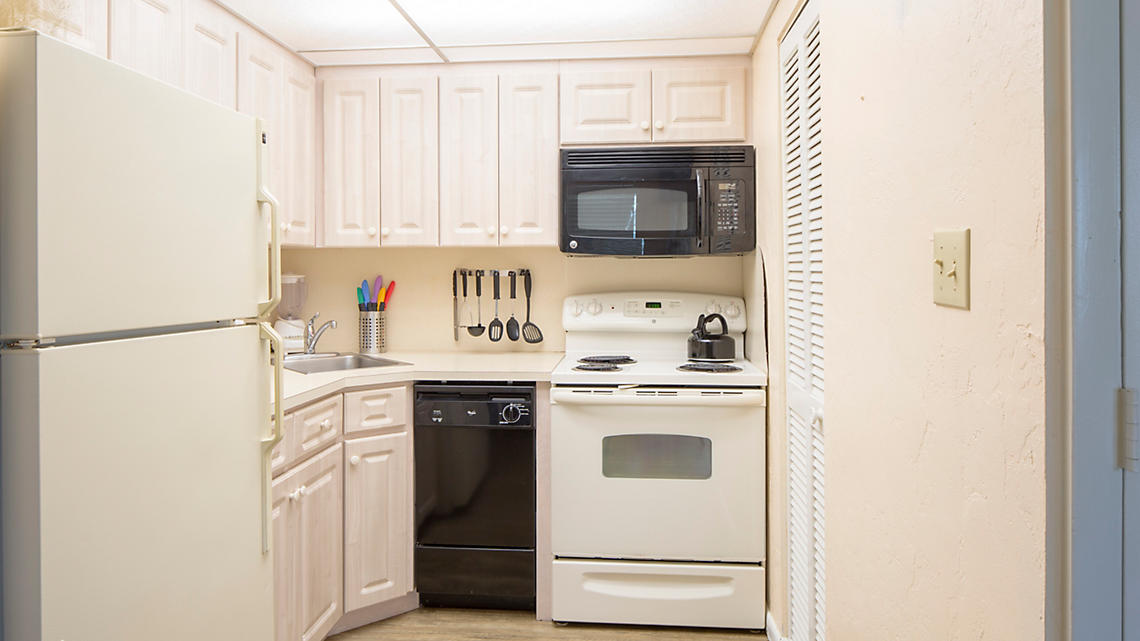 1 Bedroom Deluxe Kitchen