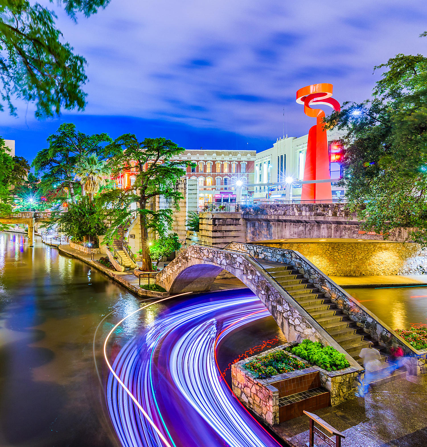 Vacation In San Antonio, Texas