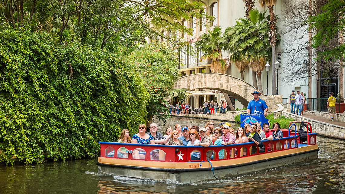 Catch a ride on a riverboat tour