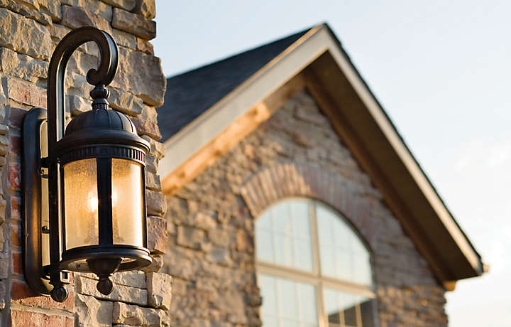 Patio Home Exterior Light - The Cliffs™ at Long Creek
