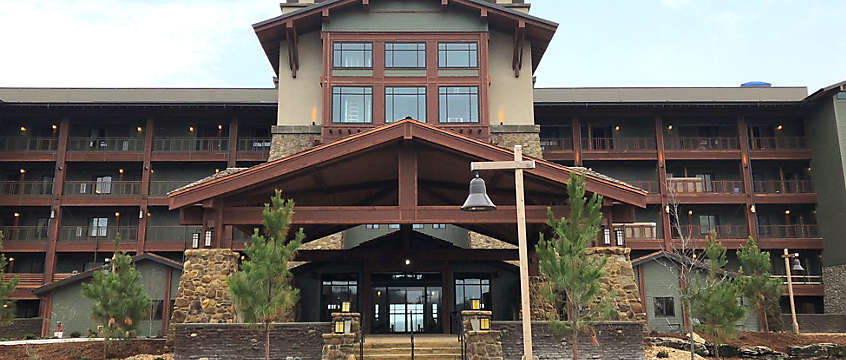 The Cliffs™ at Long Creek Lodge Front Exterior