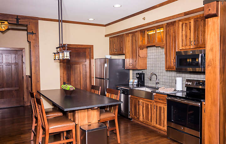 The Cliffs™ at Long Creek Lodge 2 Bed Kitchen