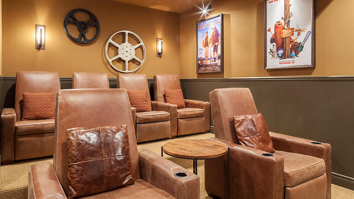 Presidential Patio Home Theater Room Seating