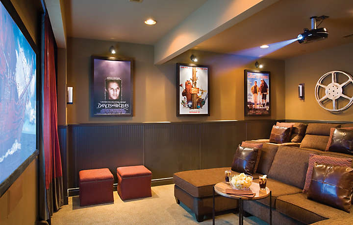 Theater Room - The Cliffs™ at Long Creek