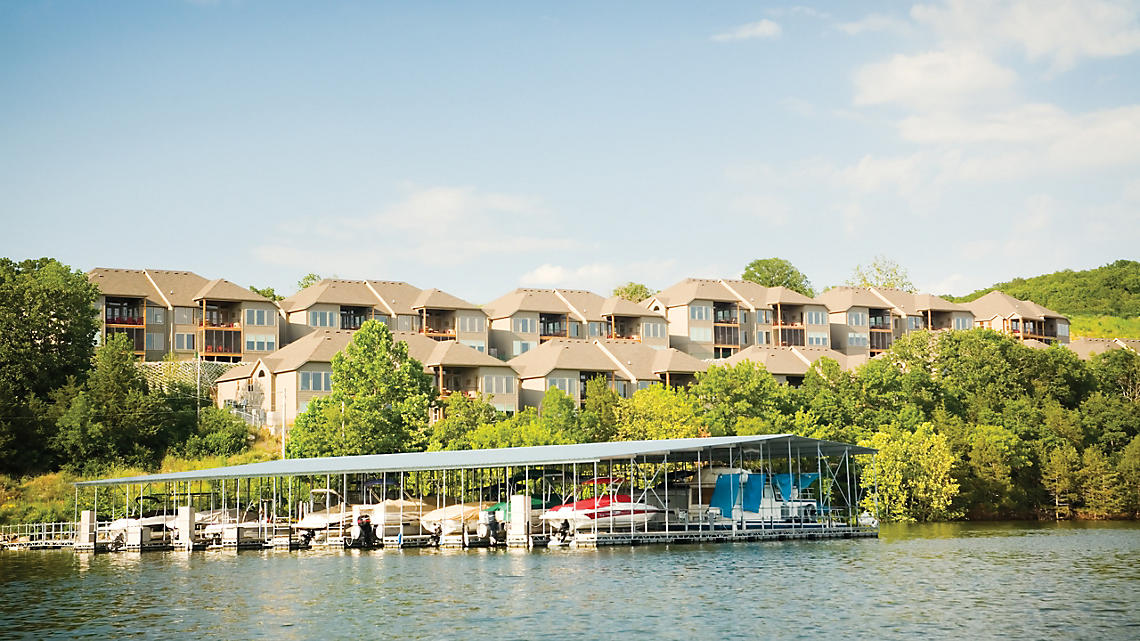 Presidential Patio Homes and Lodge Villas Enjoy Views of Table Rock Lake