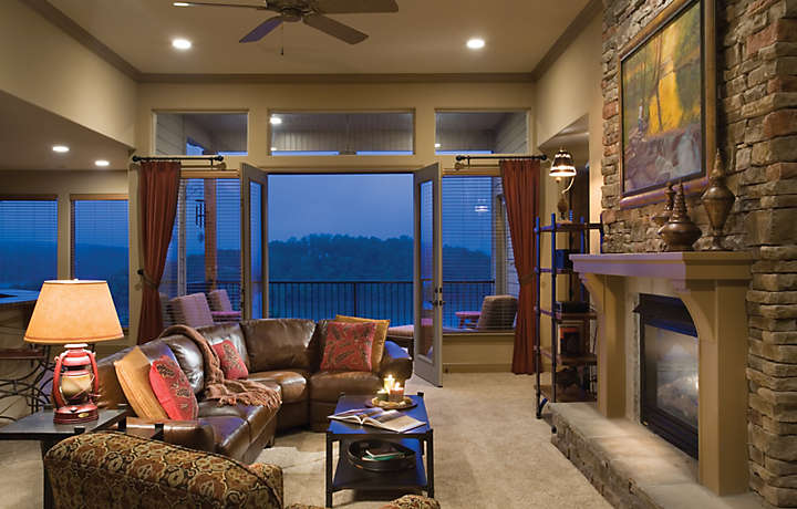 Luxury Living Area - The Cliffs™ at Long Creek