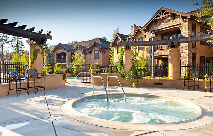 Hot Tub - The Club at Big Bear Village