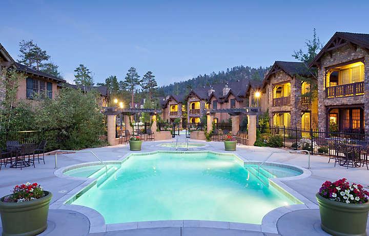 The club at big bear village bluegreen vacations for Big bear village cabins