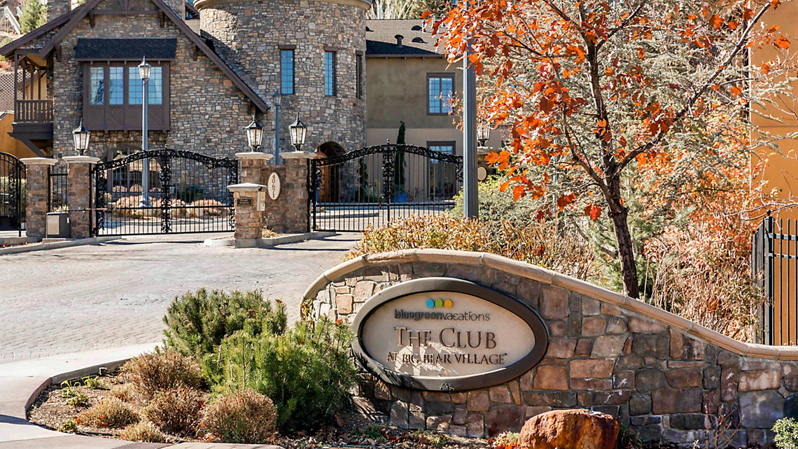 The Club at Big Bear Village Signage