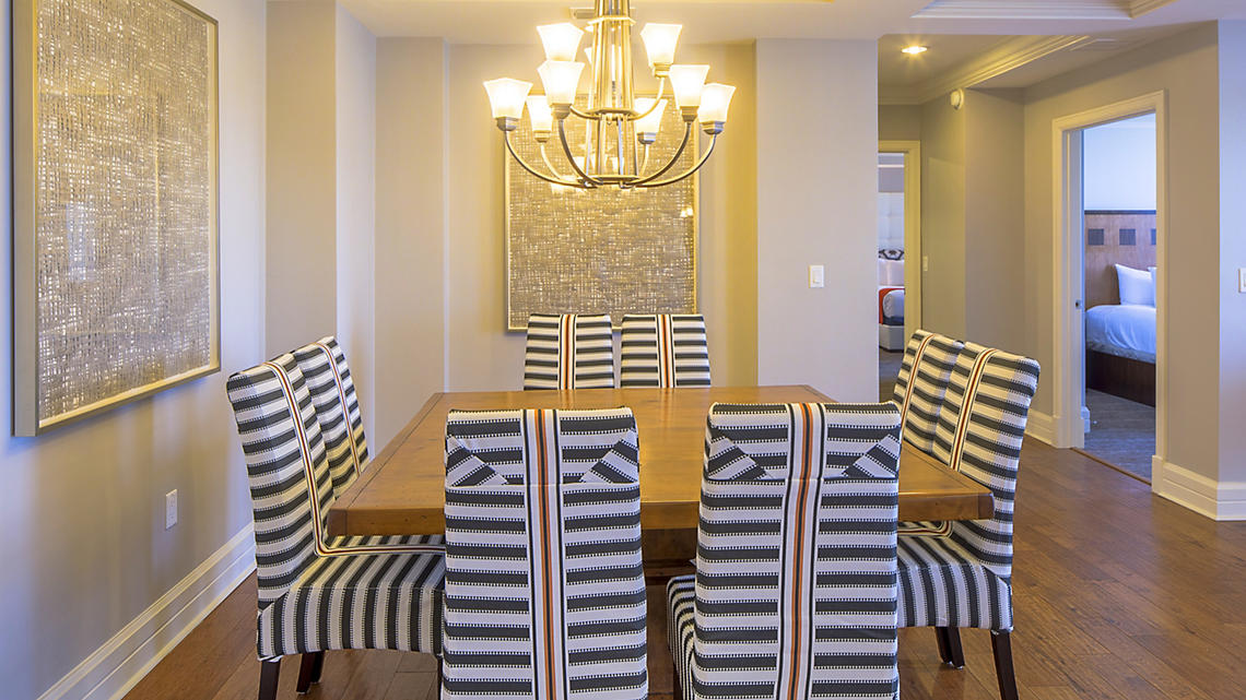 3 Bedroom Presidential Dining Area