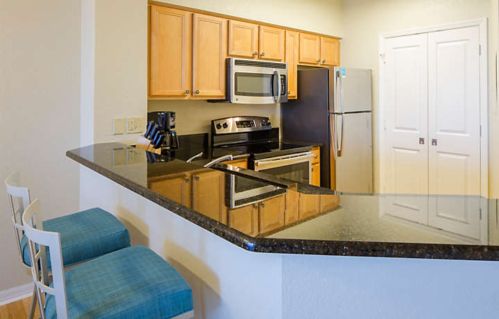 The Fountains Two Bedroom Standard Kitchen