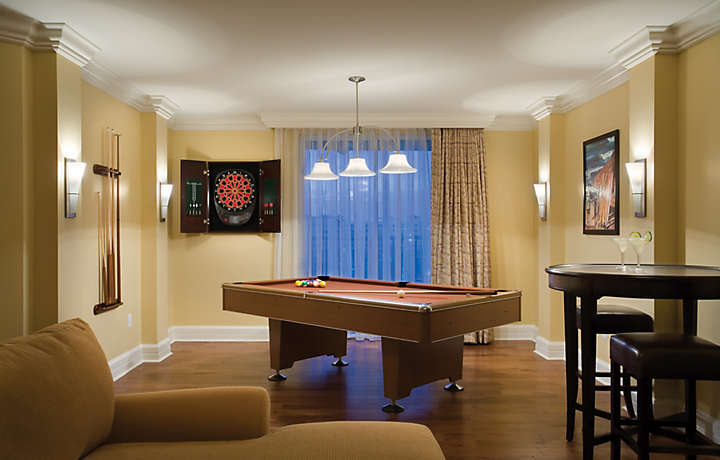 The Fountains Presidential Suite Pool Table