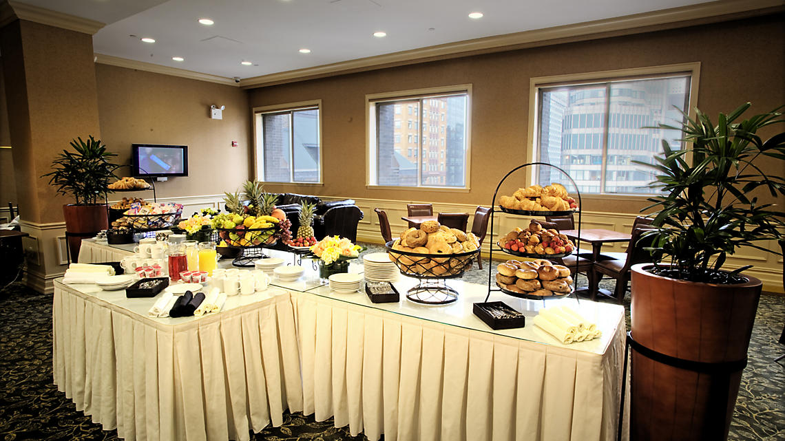 Club Lounge Continental Breakfast