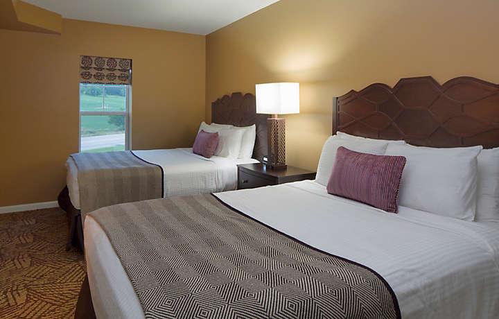 The suites at hershey 2 bedroom villa guest bedroom