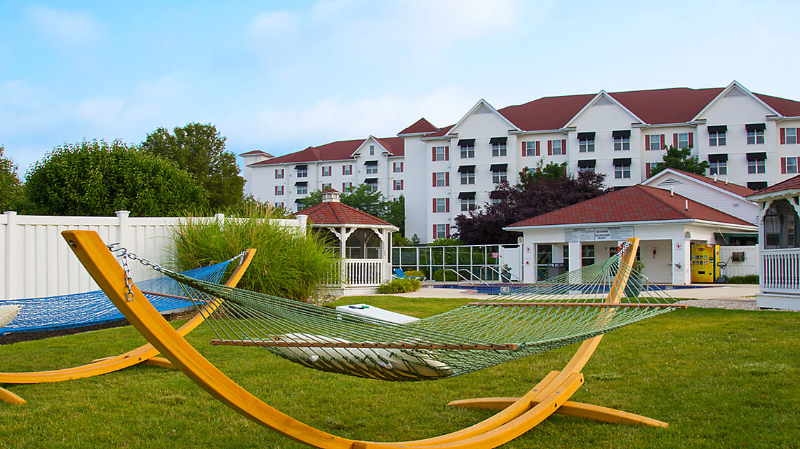 The Suites at Hershey exterior hammocks