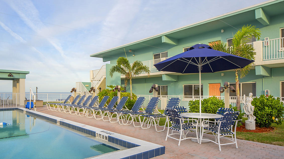 Via Roma Beach Resort Pool Deck