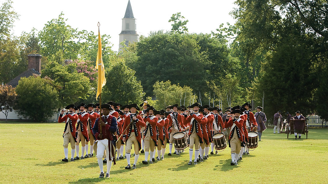 Fife and Drum at Courthouse Green
