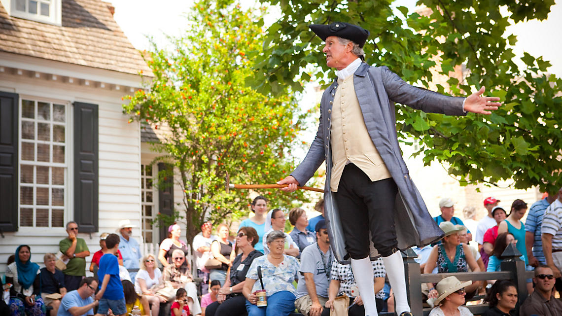 History comes alive in Williamsburg