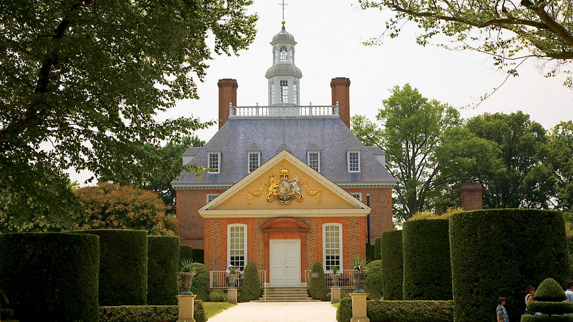 Tour the Governor's Palace, official home for Royal Governors