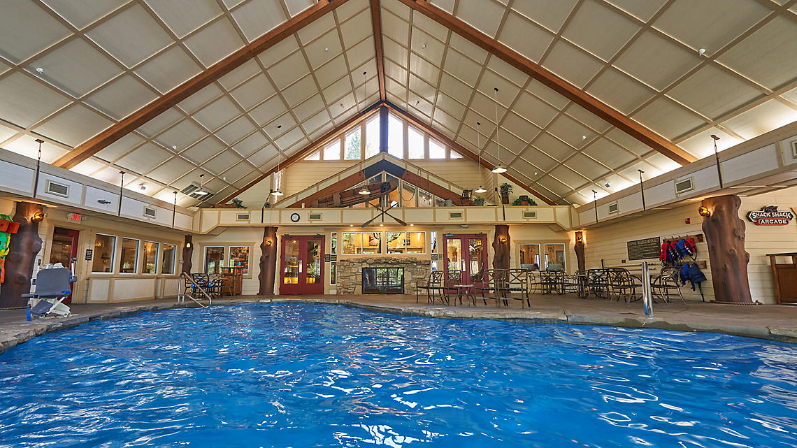 Indoor Pool in Clubhouse