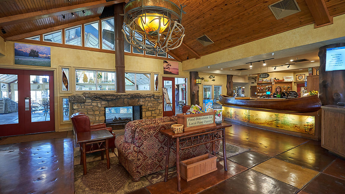 Brushey Creek Clubhouse Lobby