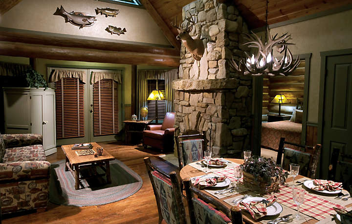 Living Room - Wilderness Club™ at Big Cedar®