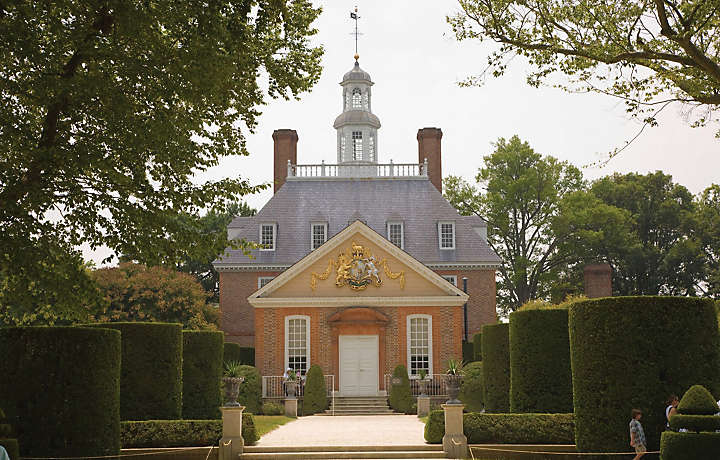 The College of Wiliam and Mary in Williamsburg VA