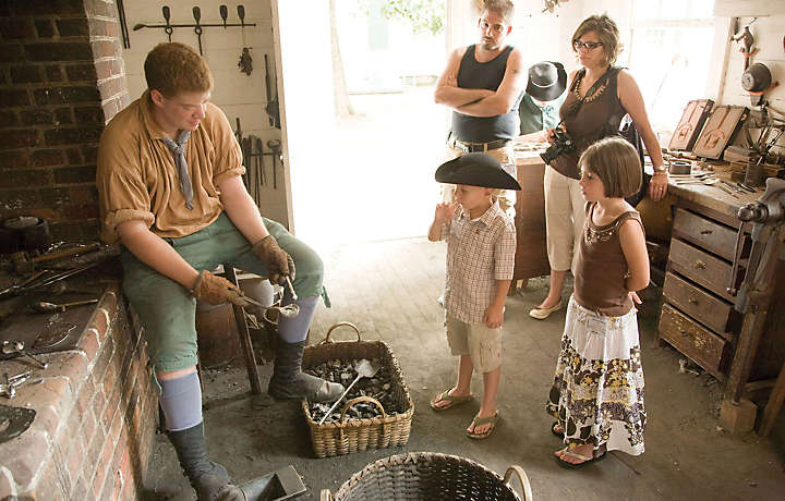 A Family in Colonial Williamsburg