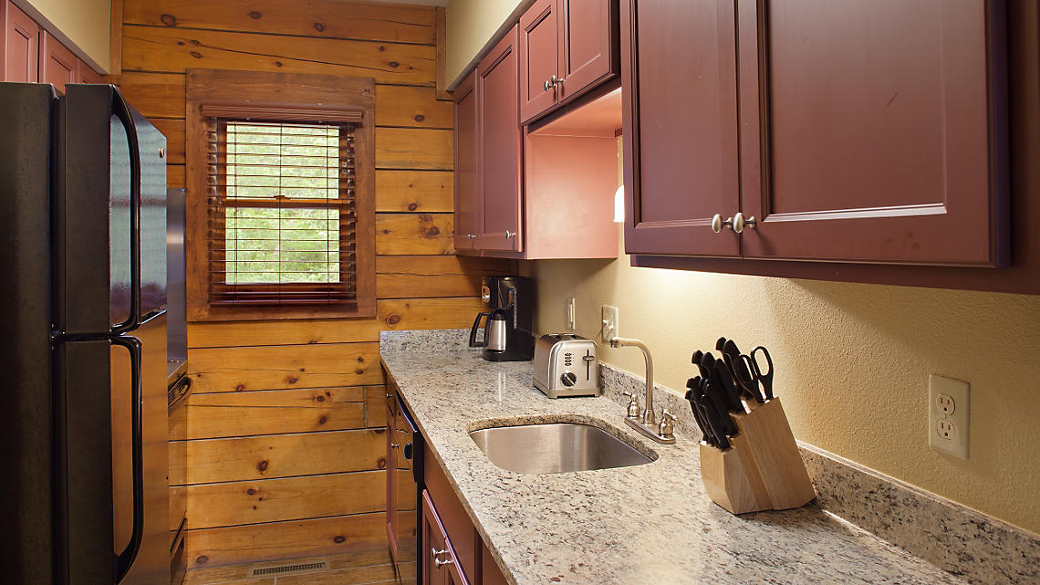 2-Bedroom Timber Kitchen