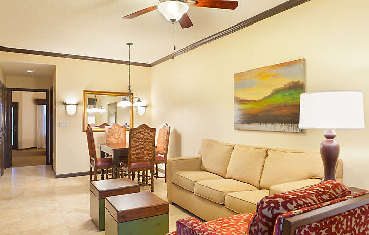 Grande Villas at World Golf Village® Living Room and Dining